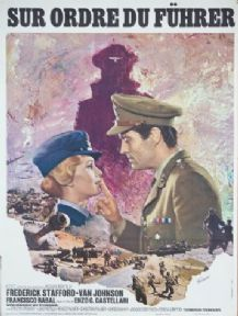 Vintage French movie poster - Sur Ordre du Fuhrer